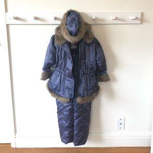 Faux fur lined winter / snow set